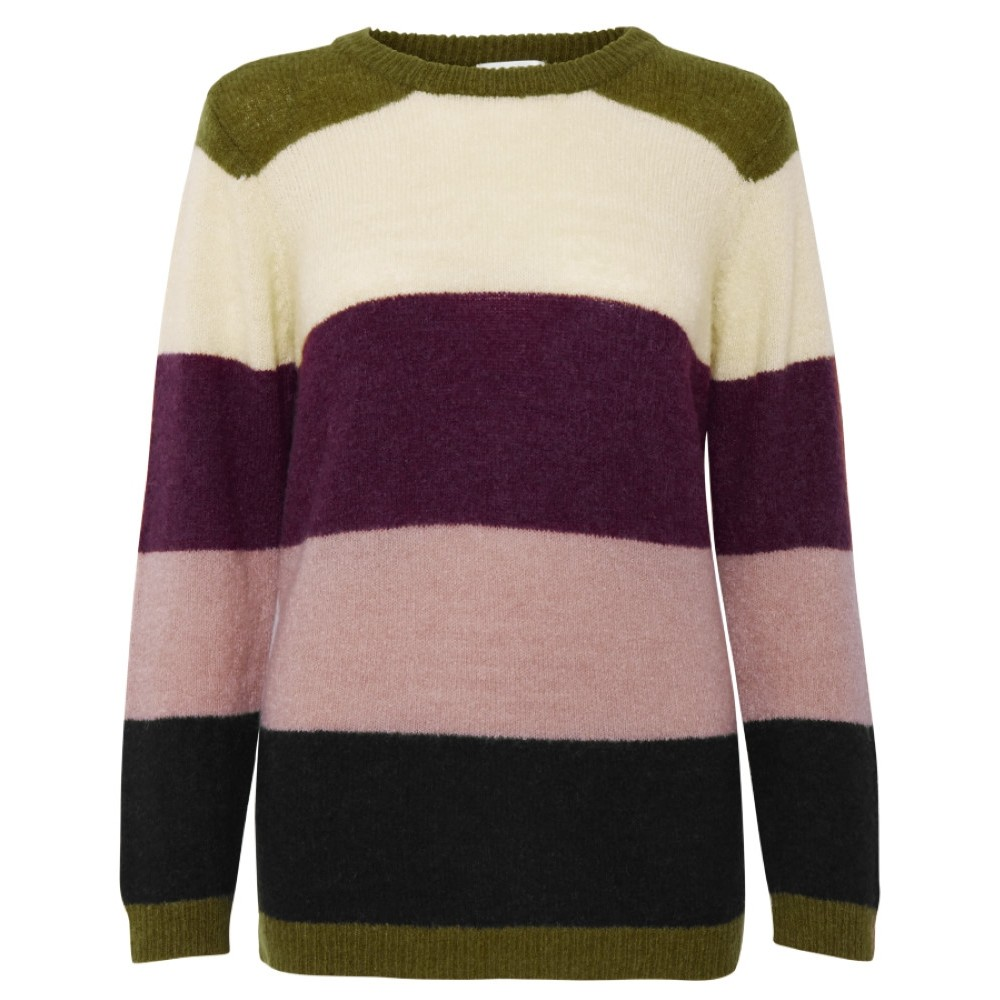 20402662 Dranella W Febiane Pullover - 42144 PORT ROYALE MIX