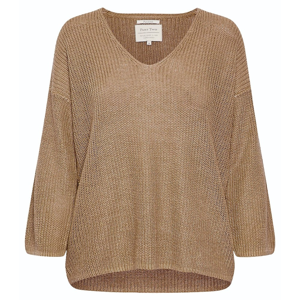 30303964 Part Two W Petrona Pullover - 33146 TANNIN