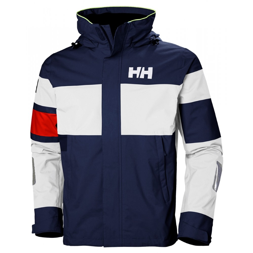 33911 Helly Hansen M Salt Light Inshore Sejlerjakke - NAVY