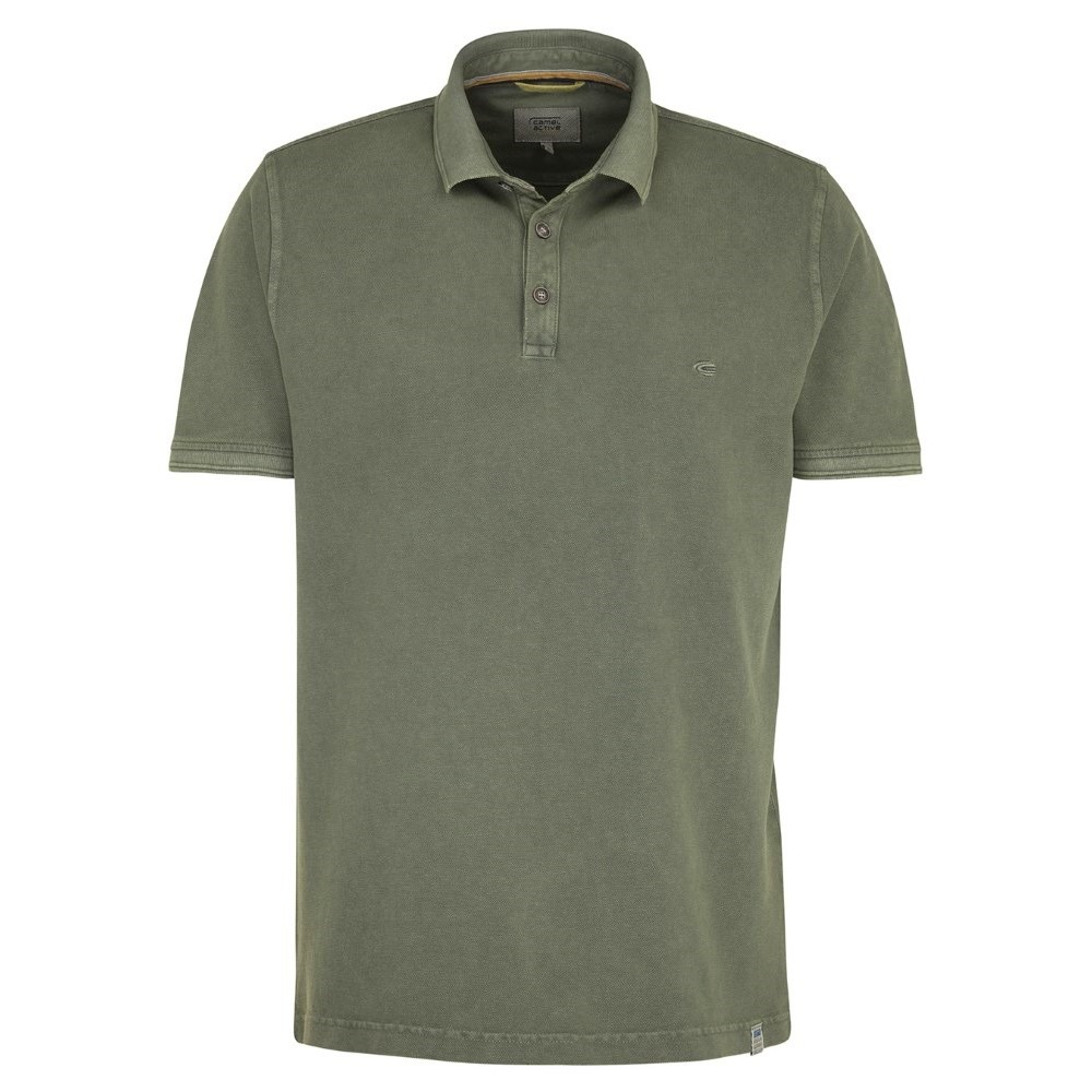 4-31.118166 Camel Active M Dyed Polo - OLIVE 01