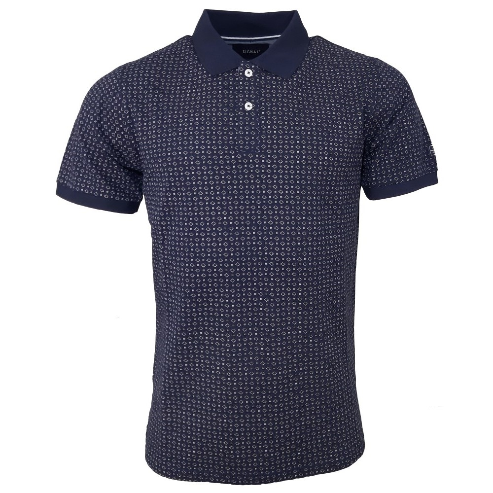 Signal M Irwing Print Polo