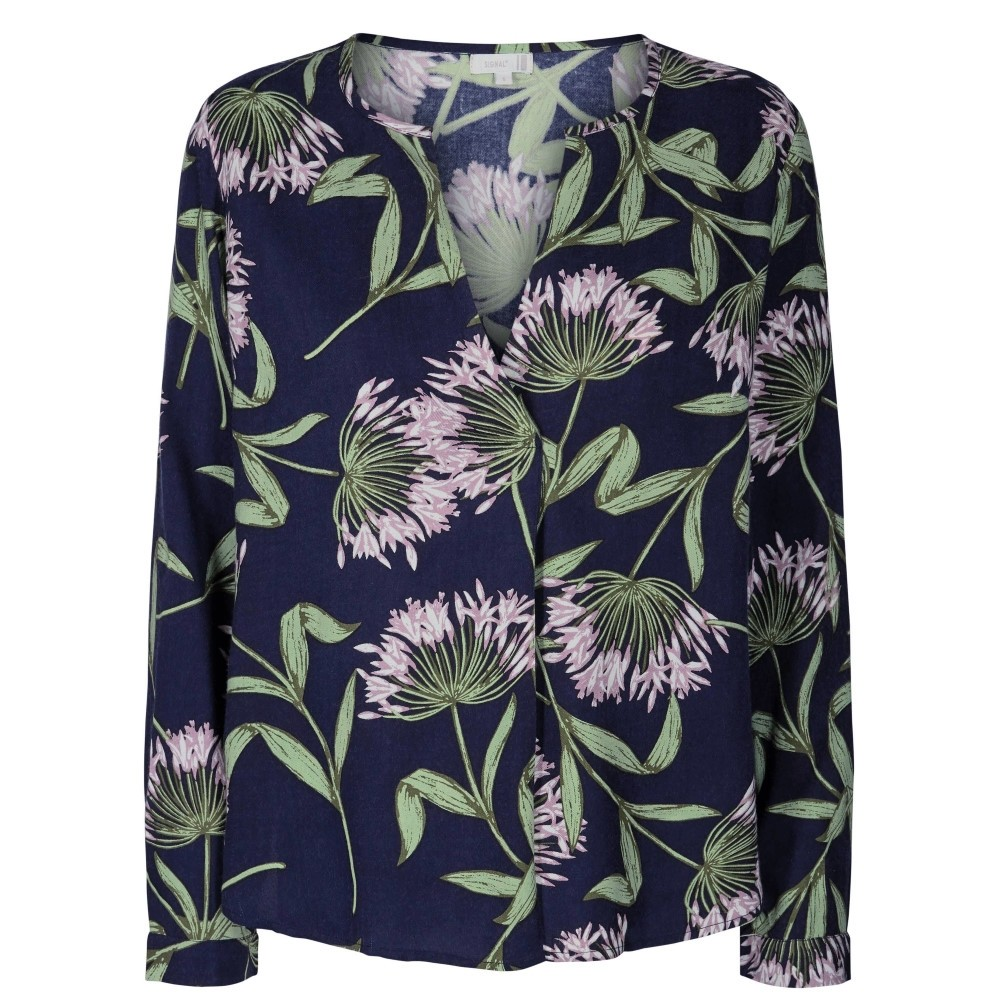 Signal W Rikkemay Bluse - FAIR GREEN