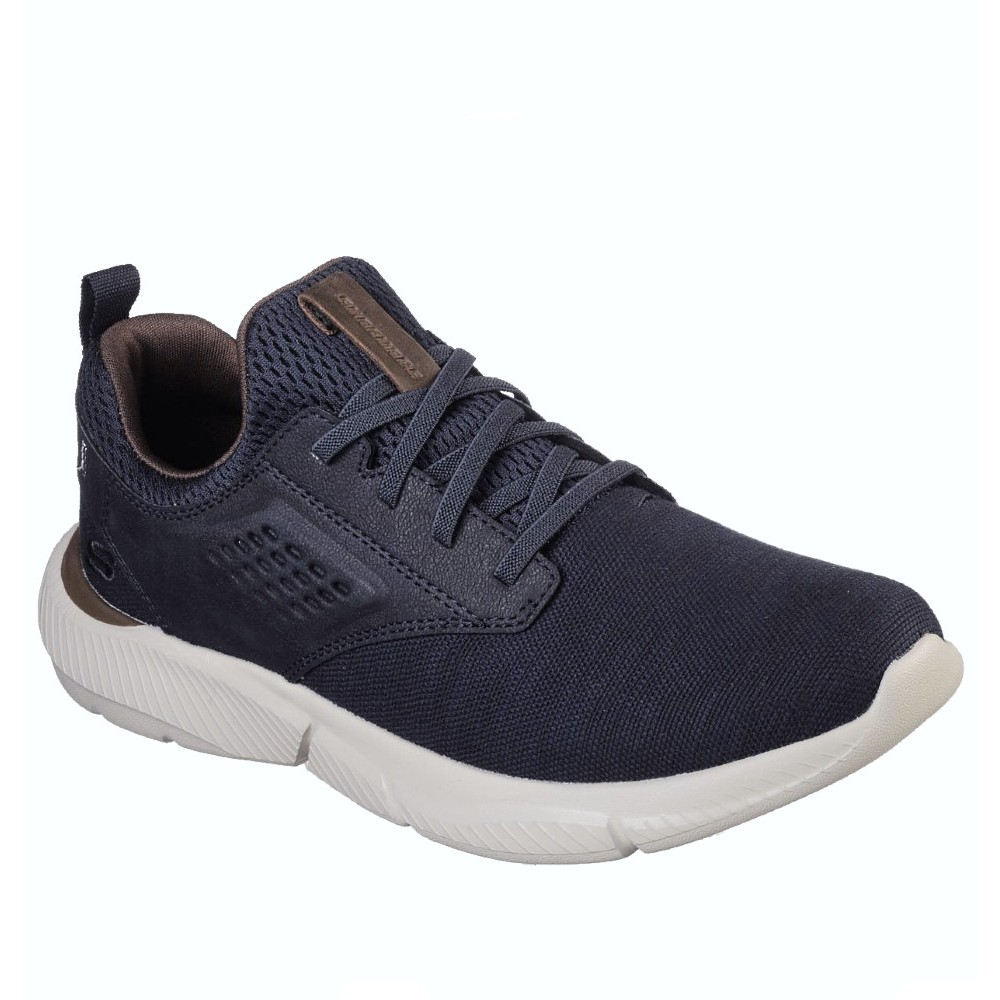 65862 Skechers M Relaxed Fit Ingram Marner Sneaker - NAVY