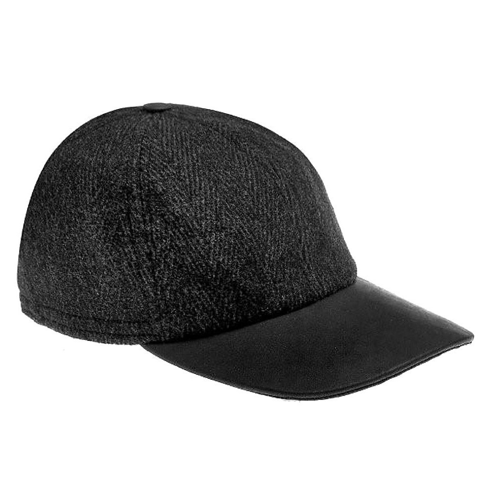 7016 City Sport Baseball Softfix Earclap Cap - 4682 DARK GREY