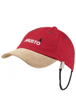 0191 Musto U Evolution Orginal Crew Cap - TRUE RED