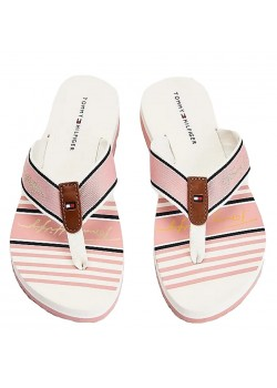 05662 Tommy Hilfiger W Signature Beach Sandal - SOOTHING-PINK
