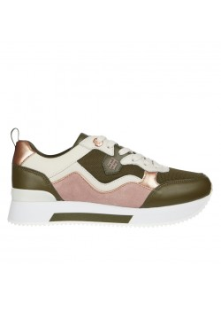 05807 Tommy Hilfiger W Active City Sneakers - ARMY GREEN