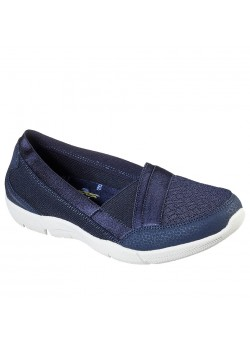 100026 Skechers W Be-Lux Daylights Sko - NAVY