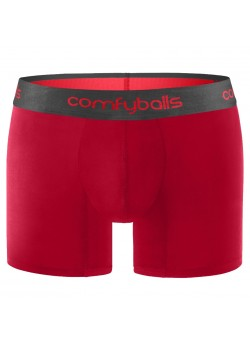 11-24 Comfyballs M Boxer Shorts - RED