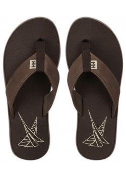 11495 Helly Hansen M Seasand Leather Sandal - FOSSIL BROWN