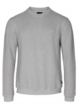 12-5004 Sea Ranch M Winston Pullover 9014-GREY-MELANGE