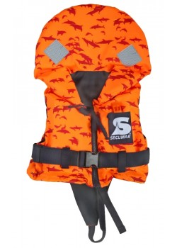 13269-13531 Secumar Bravo Print Redningsvest - ORANGE