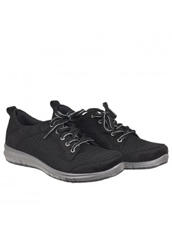 Arcopedico W Net 4 Sneaker - BLACK
