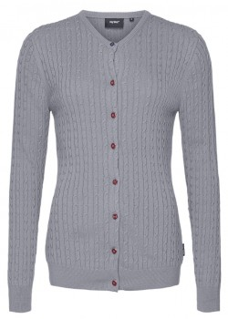 16-6-404 Key West W Jessica Cardigan - 9002-GREY
