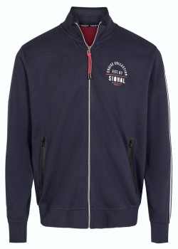 17105 Signal M Bolt Zip Sweatshirt - 5271 DUKE BLUE