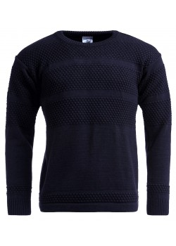 S.N.S. Herning U Fisherman Crewneck - Navy
