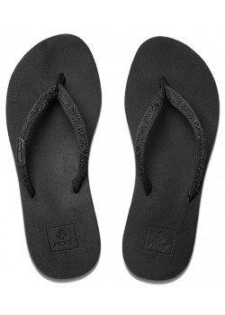 01660 Reef W Ginger Sandal - BLACK