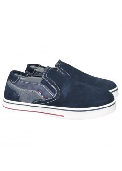20317 Rugged Gear M New Lux Loafer - NAVY