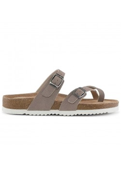 20350 Cph-Comfort W Bio Cross Over Sandal - SAND