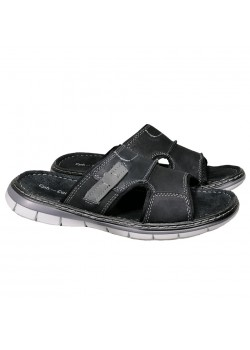20389 Cph-Comfort M Comfy Simple Sandal - BLACK