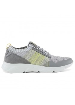 20398 Rugged Gear M Knit Stitch Sneaker - GREY