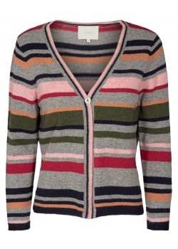 22334 Signal W Star Cardigan 6727-ASH-ROSE