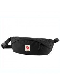 23165 Fjällräven U Ulvö Hip Pack Medium Taske - 550 BLACK