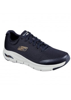 232040 Skechers M Arch Fit Sneaker NAVY