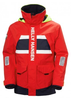 30221 Helly Hansen M Salt Coastal Sejlerjakke - 222-ALERT-RED