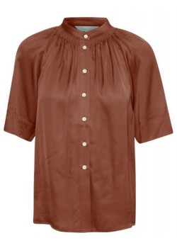 30305304 Part Two W Doria Bluse - 300168 CHOCOLATE GLACE