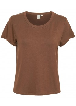 30305345 Part Two W Ratan T-Shirt - 300168 CHOCOLATE GLACE