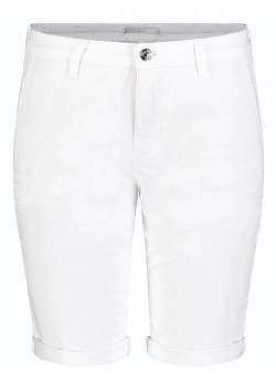 306900 MAC W Chino Shorts - 010-WHITE