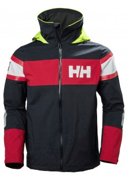 33909 Helly Hansen M Salt Flag Sejlerjakke - 597 NAVY