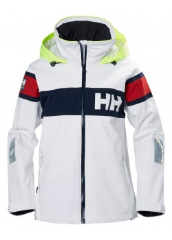 33923 Helly Hansen W Salt Flag Sejlerjakke - 001 WHITE