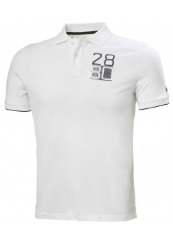 33966 Helly Hansen M HP Club 2 Polo - WHITE