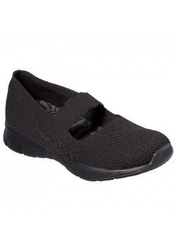 49622 Skechers W Seager Power Hitter Sko - BLACK