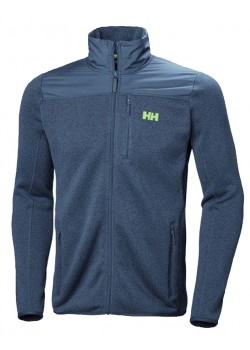 51850 Helly Hansen M Varde Fleece Jakke - 603-NORTH-SEA-BLUE