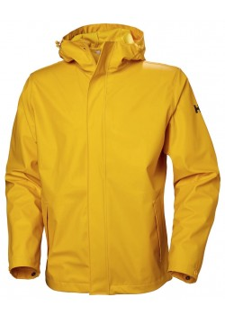 53267 Helly Hansen U Moss Regnjakke - 344 ESSENTIAL YELLOW