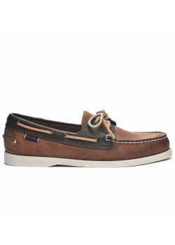 7002T70 Sebago M Notch Docksides Sejlersko - 912-BROWN-TAN