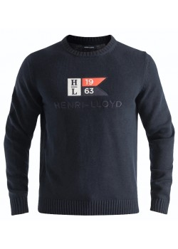 A201153035 Henri Lloyd M Cross Pullover - NAVY
