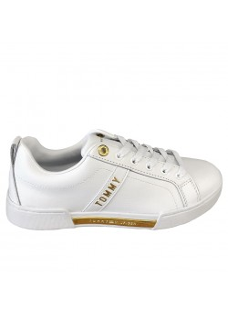 FWO5217 Tommy Hilfiger W Branded Outsole Sneaker - WHITE