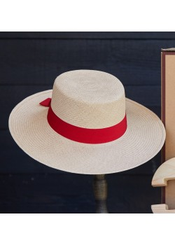 Hat of Cain W The Hepburn Panamahat - STRAW