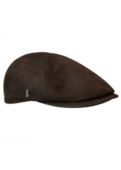 M23-RELAX-LEATHER City Sport M Læder Sixpence - 1010-BRUN