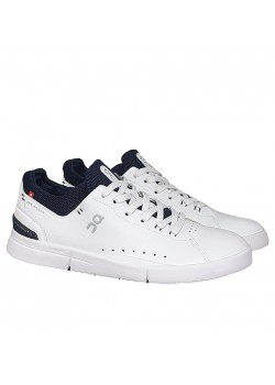 M48 On-Running M The Roger Advantage Sneaker - WHITE-MIDNIGHT