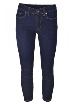 Jonny Q W Jacky X-Fit Stretch Jeans - 72970-RAW-BLUE-DENIM