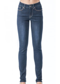 P682-Q4955 Jonny Q W Cathrine X-Fit Stretch Jeans DARK-DESTROYED