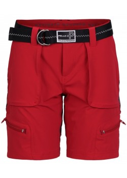 PP6724 Pelle P W PP1200 Bermuda Shorts - RACE RED