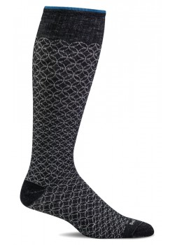 sw100w Sockwell W Featherweight Fancy Strømper - BLACK