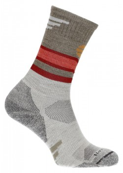 SW98W Sockwell W Mountain Beat Crew Strømper - NATURAL
