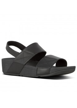 X11 FitFlop W Mina Back-Strap Sandal - 090 ALL-BLACK